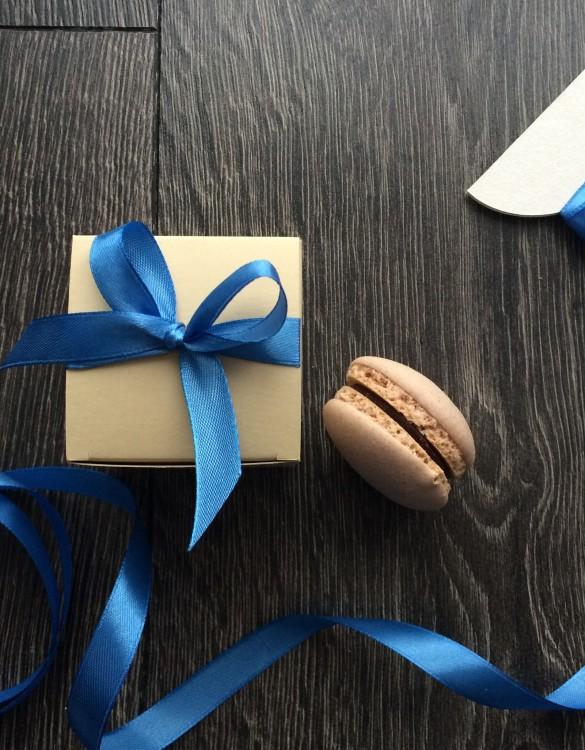 Cukrowy Butik Mini Box Szafirowy Sad