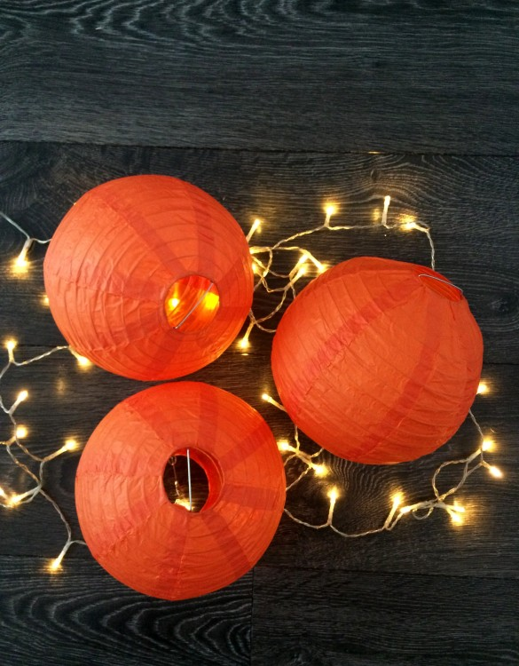 Cukrowy Butik_Lampion pomarańczowy