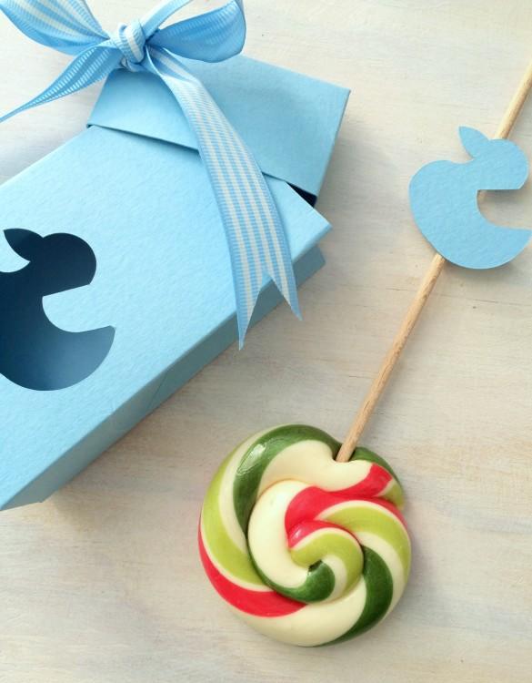 Cukrowy Butik_Torebeczka Baby Blue kaczuszka