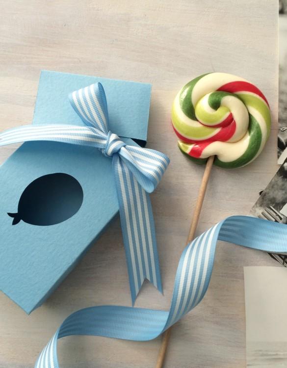 Cukrowy Butik_Torebeczka Baby Blue baloon